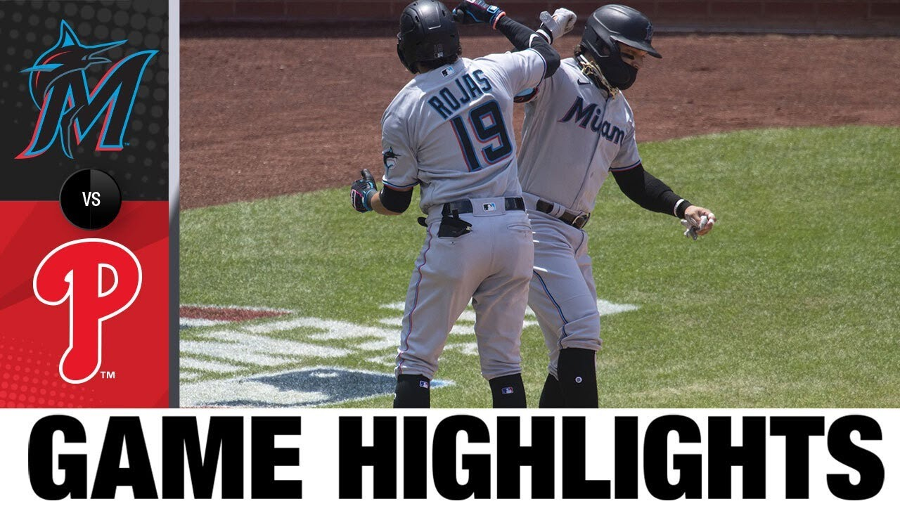 Miguel Rojas helps power Marlins over Phillies | Marlins-Phillies Game Highlights 7/26/20