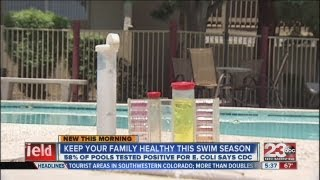 Keep pools clean this summer