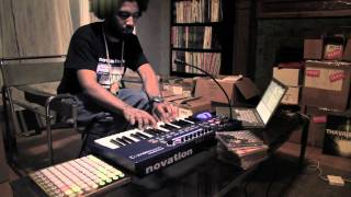 Novation // Thavius Beck: Ultranova and Launchpad