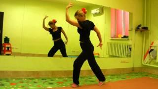 Обучение восточным танцам.Андалузский танец.Danza OrientalУрок № 20(Связка для танца