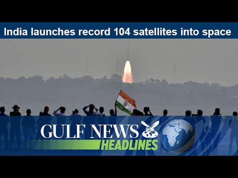 India launches record 104 satellites into space - GN Headlines