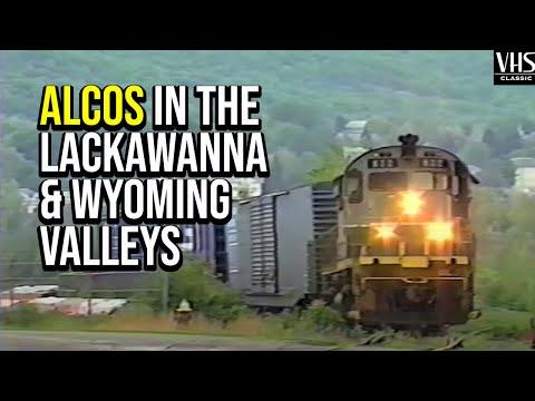 Alcos in the Valley: The Delaware-Lackawanna in Wilkes-Barre & Scranton