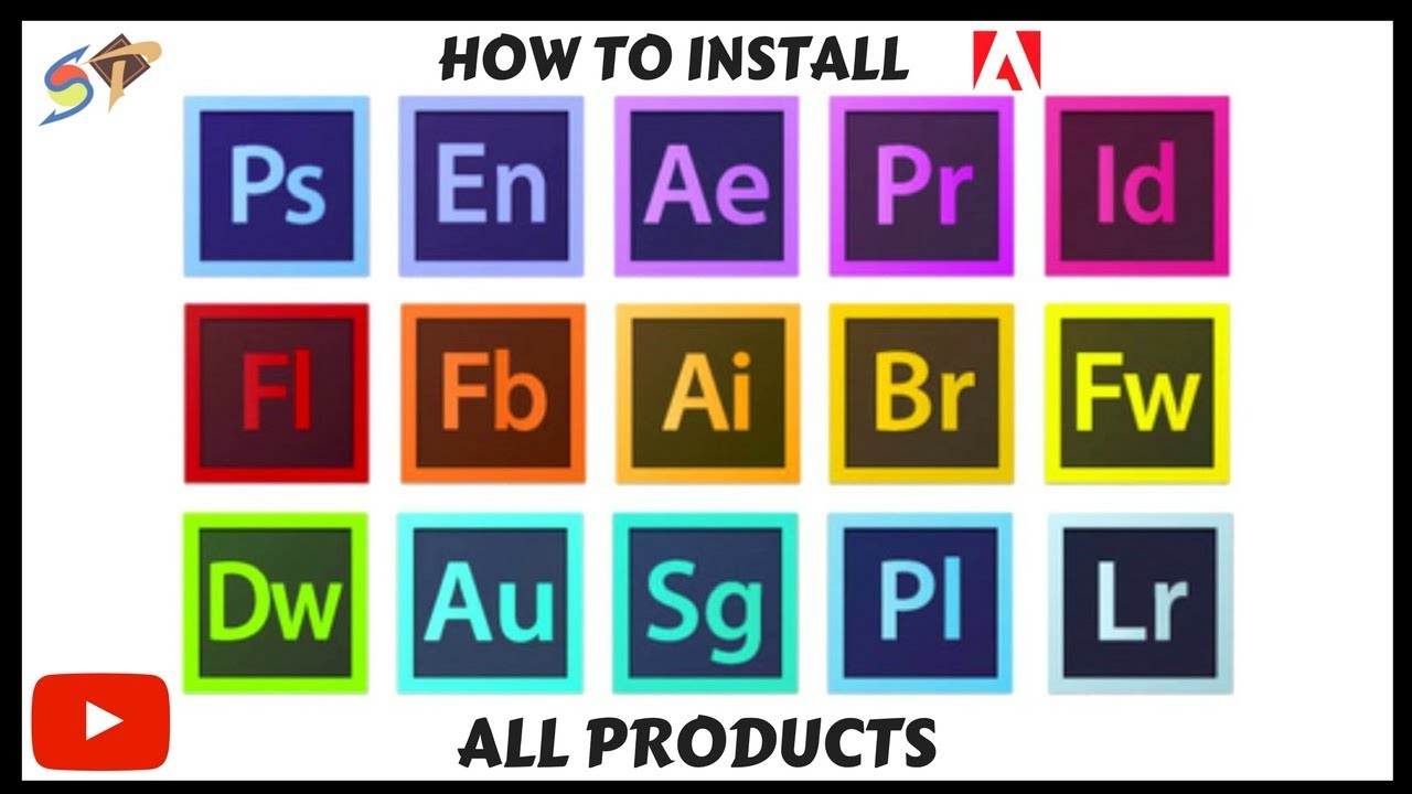 HOW TO INSTALL ALL ADOBE PRODUCTS FREE