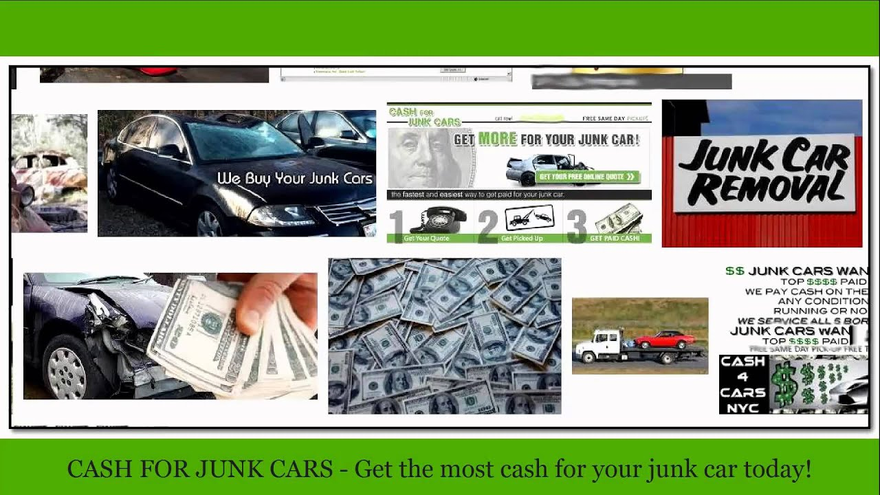 Recycle Junk Cars | Boston Ma (617) 936-8084 - YouTube