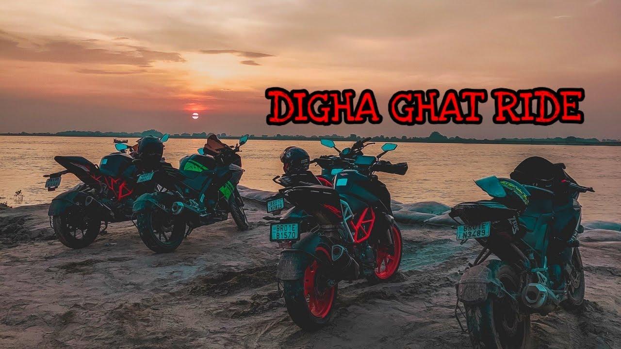 Ride Before Lockdown in PATNA | Digha Ghat JP SETU BRIDGE | KTM RC 390 vs R15 V3