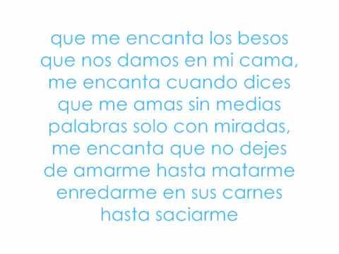 Me encanta - Fondo Flamenco (Con letra)