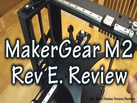 MakerGear M2 Rev EReview