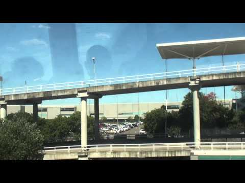 Brisbane Airtrain from Domestic Terminal to City: Part 1
