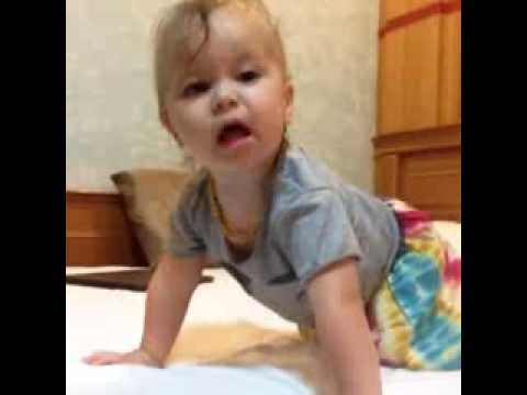 17 Month old Iggy won't go to bed, again. - YouTube