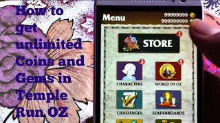 How To Hack Temple Run OZ (no Root Required)