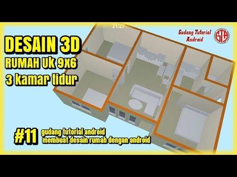6700 Foto Desain Rumah 3 Kamar Tidur 3D Terbaru Unduh