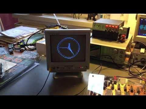 Z88DK clock example on Galaksija