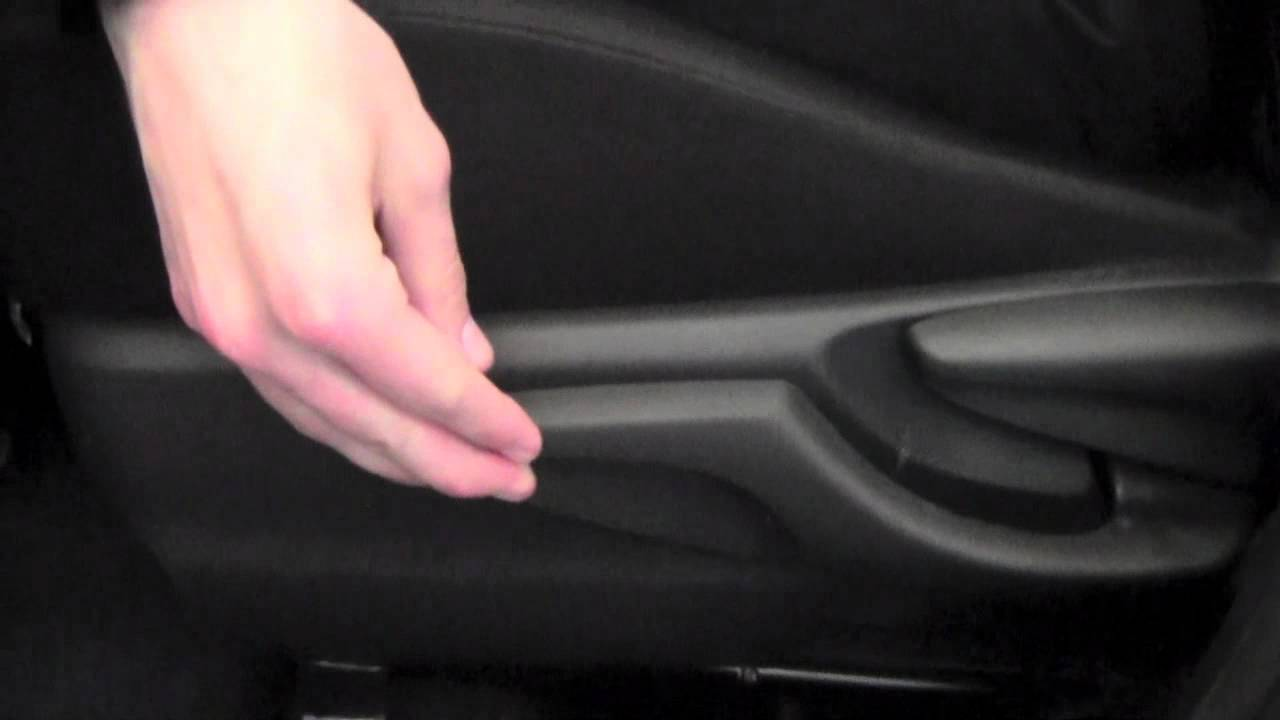 2012 Toyota Yaris Driver Seat Adjustment How To By