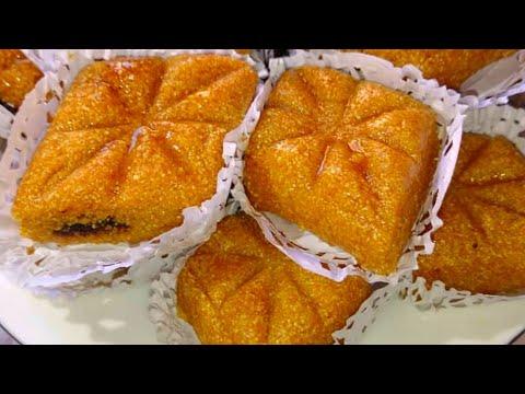 100%-حلويات-إقتصادية-و-راقية-/جديد-حلويات-عيد-الاضحى-2020/-مقرود-عسل-ناجح/-gâteaux-makroud-au-miel