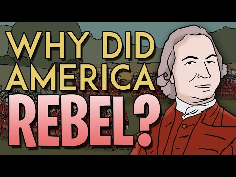 What Caused The American Revolution?   Animated History