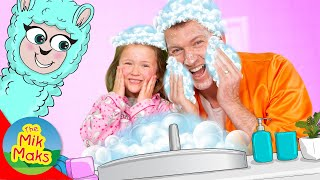 This Is The Way  | Daily Routine Kids Song | Nursery Rhymes | The Mik Maks