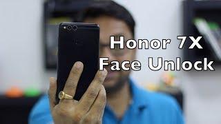 Face Unlock on Honor 7X | Honor View 10 Face Unlock Update [Hindi]