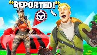 I Trolled Him With NEW Cars In Fortnite