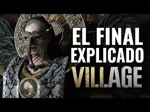 EL FINAL DE RESIDENT EVIL 8 VILLAGE EXPLICADO