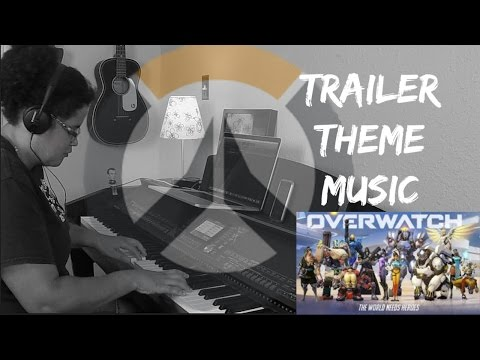 Overwatch Trailer Theme Music (Piano Cover...