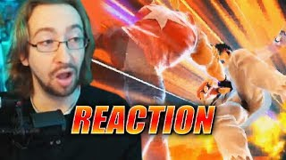 MAX REACTS: Terry Gameplay Reveal - Super Smash Ultimate