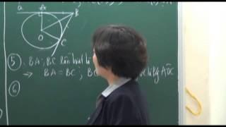 Mở đầu về Chuyên đề Đường tròn - phần 2 - Toán 9