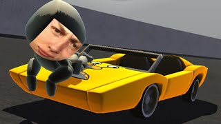 I'M SURFING ON A CAR!? (Turbo Dismount)