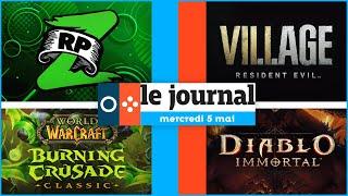 Resident Evil Village volontairement moins effrayant que RE7 😨🎮 | LE JOURNAL