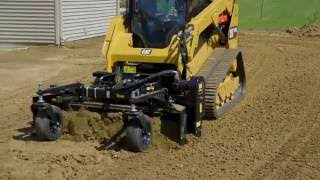 Cat® Power Box Rake Attachment Operating Tips