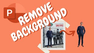 How to remove the background from an image in PowerPoint