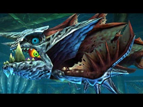 The Legend of Zelda: Majora's Mask 3DS - 100% Walkthrough Part 16 - Great Bay Temple / Gyorg Boss
