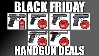 Black Friday Handgun Deals 2017 - Beretta | Ruger | Browning