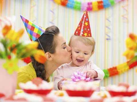 Как отметить день рождения ребенка 1 годик