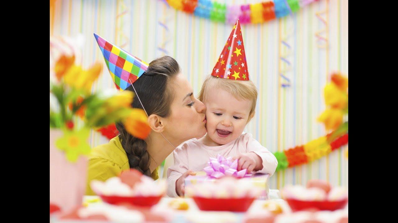 день рождение годик
