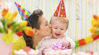 Как отпраздновать первый день рождения ребёнка. День рождения ребенка 1 год.
