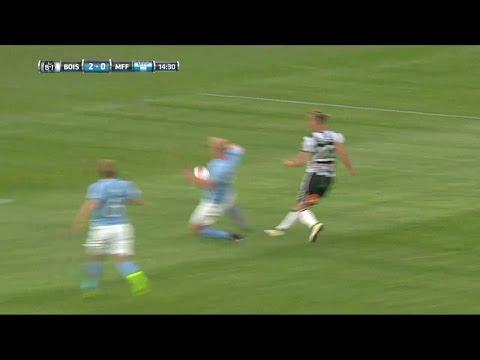 Landskronas Levi sätter 2-0 mot Malmö FF - TV4 Sport