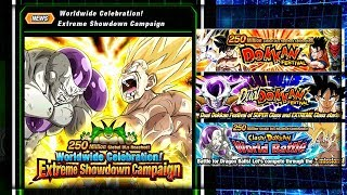 GLOBALS TICKET BANNER DROPPING TONIGHT! WORLDWIDE CELEBRATION! | Dragon Ball Z Dokkan Battle