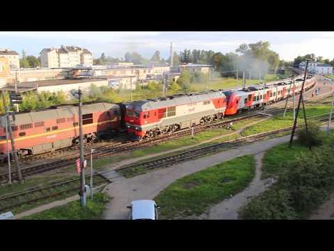 Одновременное отправление поездов