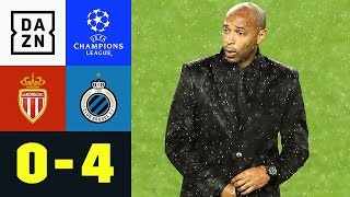 Vanaken und Co. blamieren Thierry Henry: AS Monaco - FC Brügge 0:4 | Champions League | Highlights