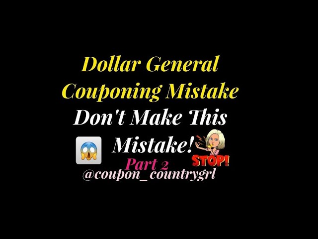 Dollar General Deals This Week | Dont Make This Mistake | DG Couponing | Part 2