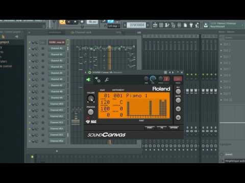 Roland Sound Canvas Module VST 1 10 2017 - YouTube