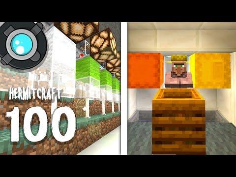 HermitCraft 6: 100 | SHEEP, VILLAGERS & INFINITE EMERALDS