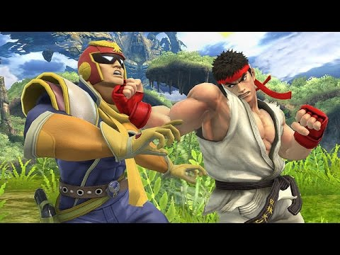 how to make falcon from super smash bros