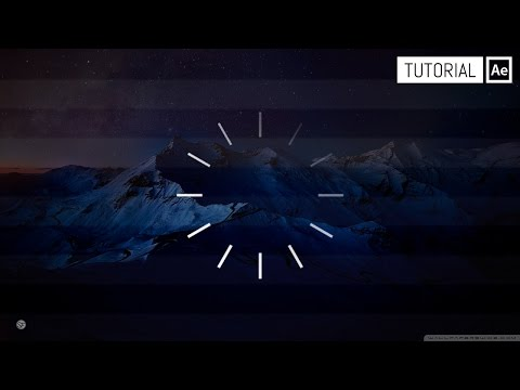 Loading Circle After Effects Tutorial