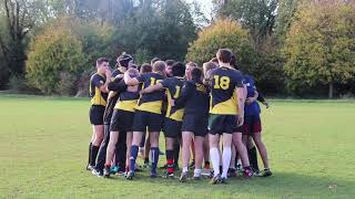 SOAS 19 - 5 UCL Rugby match 31/10/18