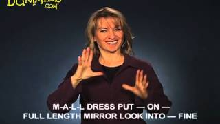 Using Facial Expressions with American Sign Language (ASL) - For Dummies