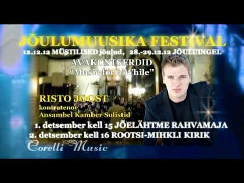 """JÕULUMUUSIKA FESTIVAL """"KIRIKUPÜHAD MAARJAMAAL"""" - AVAKONTSERDID"""