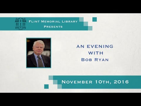 Flint Memorial Library Presents An Evening With Bob Ryan 11/10/16