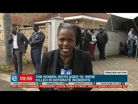 Ramaphosa sal na verwagting die gesin van Mrwetyana - eNCA besoek