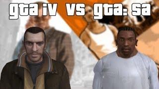 GTA: San Andreas VS GTA: IV - Loquendo